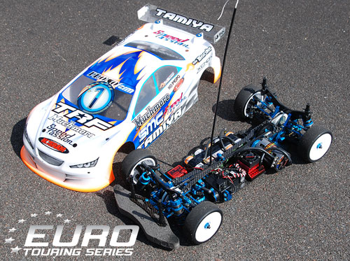 Winning Tamiya TRF416 of Groskamp