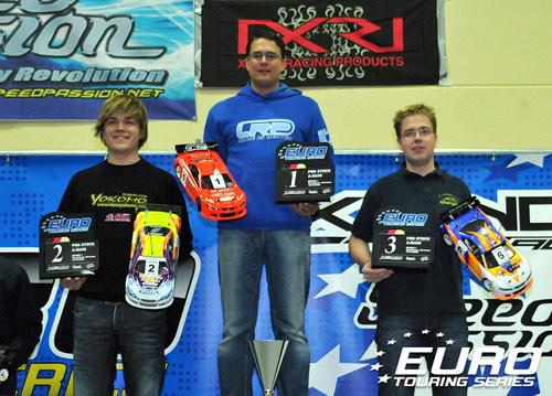 Pro Stock podium