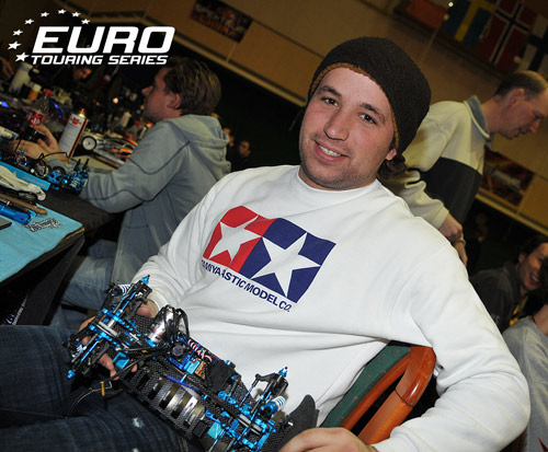 Marc Rheinard top qualifier