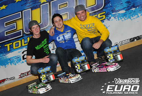 Yokomo claim first ETS 1-2 finish