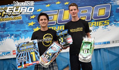 LRSun VolkerYannic Finale of Yokomo Euro Touring Series: Prumper wins, Volker retains title