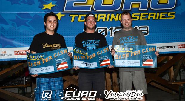 Volker & Pumpler win 'Dash for Cash'