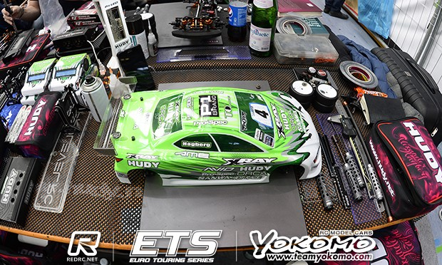 Euro Touring Series Pit Focus Alexander Hagberg